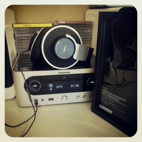 AKG K551 + Marants Hi-Fi